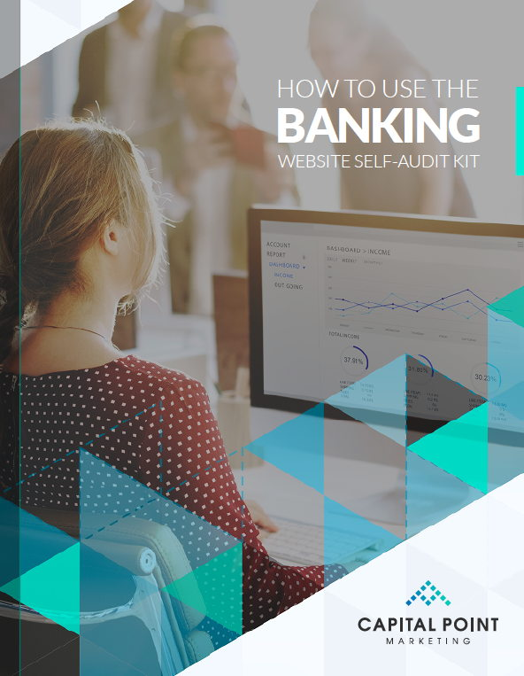 cover of guide how to use the banking website self audit kit