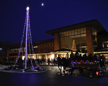 Greenwood Aglow and Kris Kringle Market