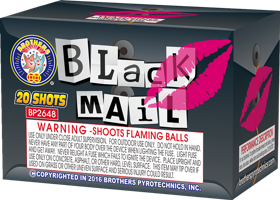 Image for Blackmail  20 SHOTS
