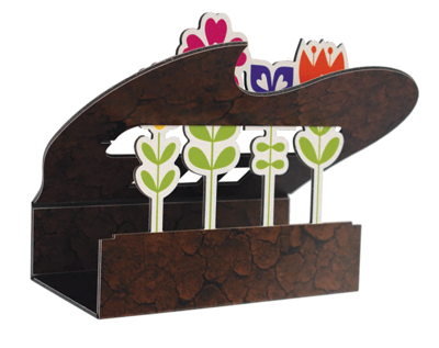 Self-Standing Display Flower Box