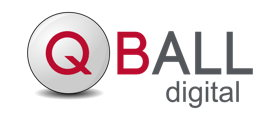 Logo for QBall Digital