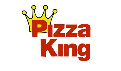 Logo for Pizza King