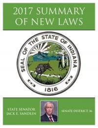 2017 Summary of New Laws - Sen. Sandlin