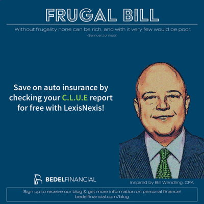 Image for Frugal Bill - CLUE for Auto Insurance