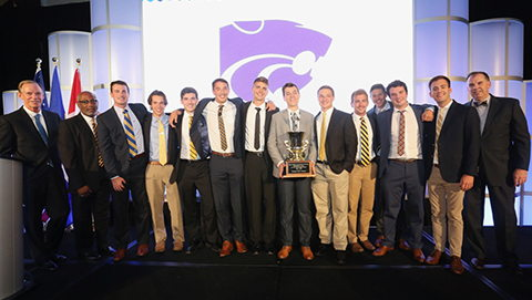 Kansas State named Sweepstakes Trophy recipient