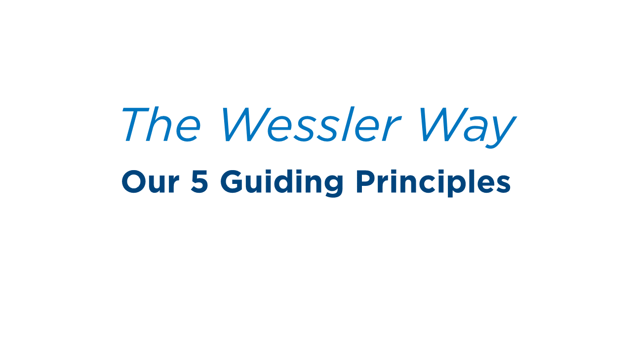 2019 Wessler Way - 5 Guiding Principles