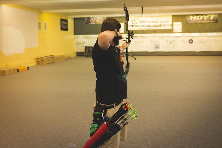 The Outdoorsman Sport Shop archery range