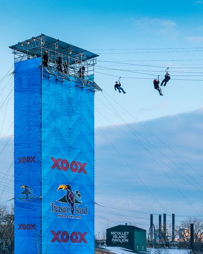 SB LII Zipline Tower