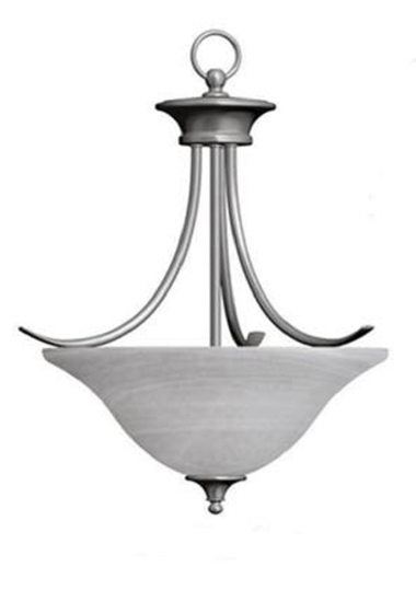 FOYER LIGHT-NICKEL