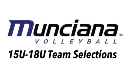 Image for 2019 15-18s Team Selections