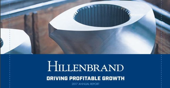 Hillenbrand 2017 Annual Report