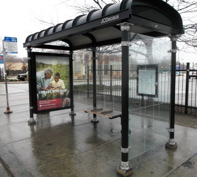 Bus Shelter Banner Graphics