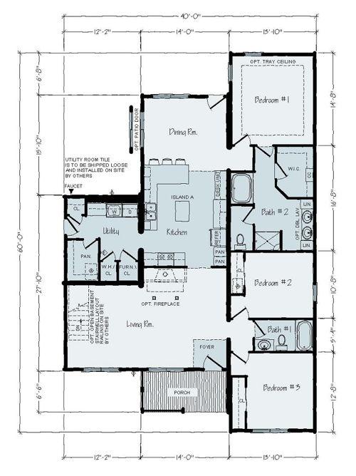 Floorplan of Executive Series