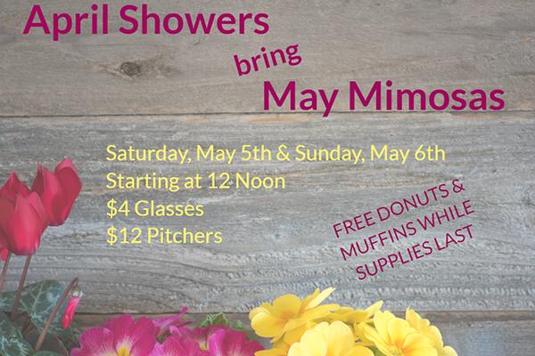 April Showers bring May Mimosas