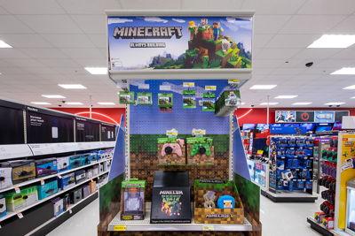 Minecraft End-Cap Display