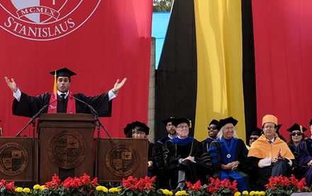 Image for Student Commencement Speaker Gurjoban Hayer: Find Your Fuel to Propel Forward