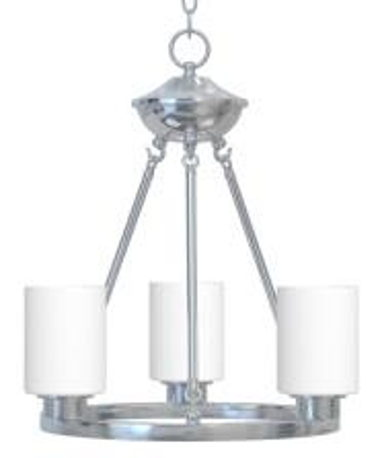 OPTIONAL FOYER OR MORNING ROOM LIGHT- BRUSHED NICKEL
