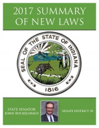 2017 Summary of New Laws - Sen. Ruckelshaus