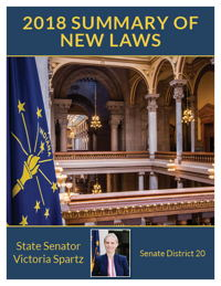 2018 Summary of New Laws - Sen. Spartz
