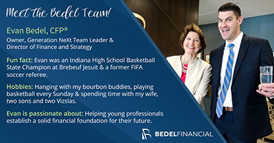Evan Bedel, CFP® | CFP Certificate | Bedel Financial