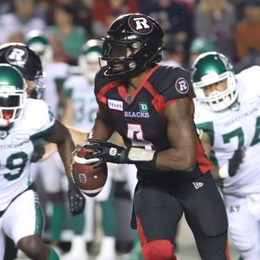 Image for Davis throws three TDs to lead Redblacks past Roughriders