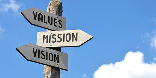 Values - Mission - Vision