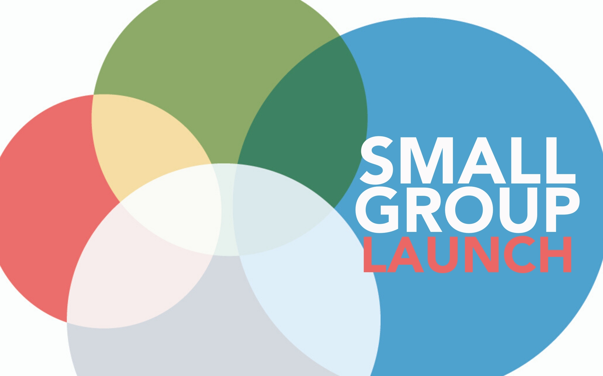 Image for Small Groups Launch