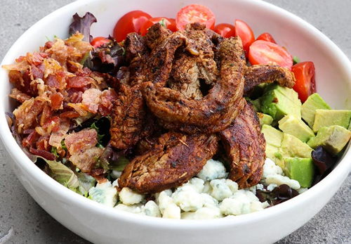Black & Bleu Steak Salad