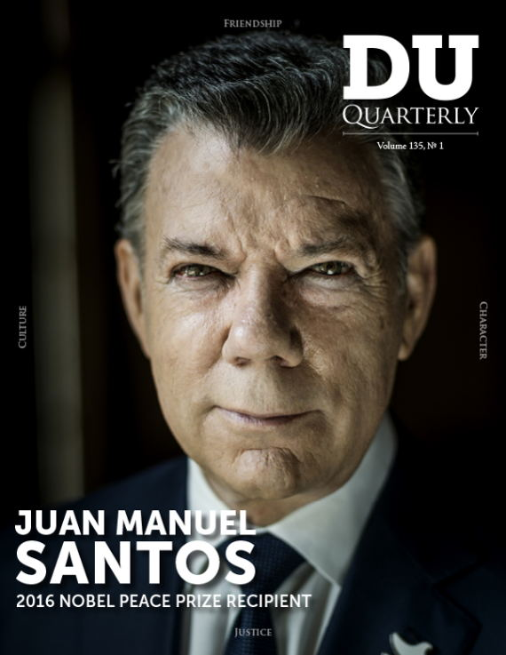 Cover for DU Quarterly Volume 135, No. 1