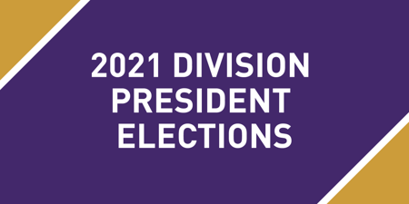 2021 Division President Elections