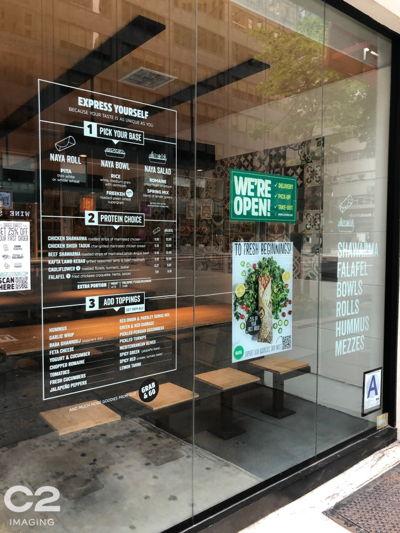 Restaurant Window Graphics (QSR)