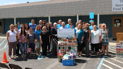 Hillenbrand's One Campaign Gives Time, Money To Batesville Area Resource Center
