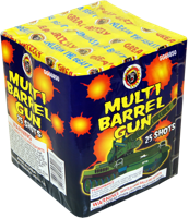 Image for Multi Barrel Gun 25 shot