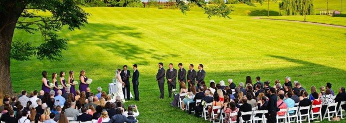 Image for ...and so many beautiful backdrops for your Wedding Ceremony!
