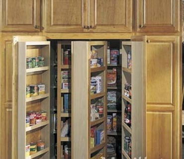 36″ PANTRY WITH SWING OUT RACKS
