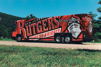 Rutgers Bus Wrap