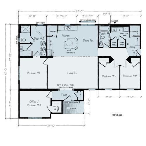 Floorplan of Davis Series