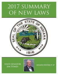 2017 Summary of New Laws - Sen. Tomes
