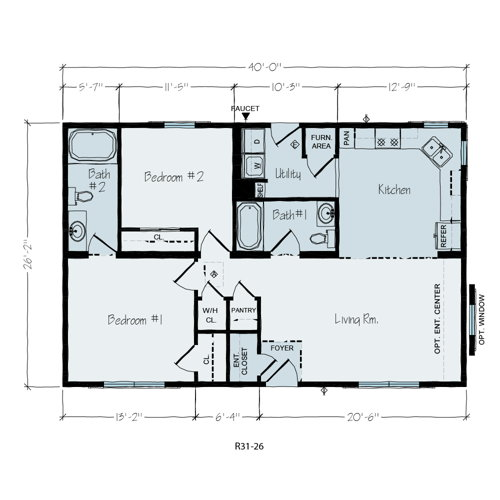 Floorplan of American