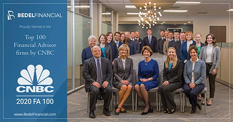 Image for Bedel Financial Consulting Named to Top 100 Financial Advisory Firms by CNBC