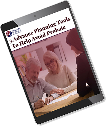 3 advance planning tools to help avoid probate cover image on ipad