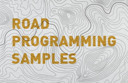 Image that represents Road Programming Samples