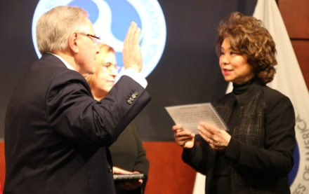 Image for Ronald L. Batory Sworn in as Administrator of the Federal Railroad Administration