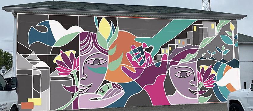 2020 Bargersville mural design