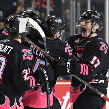 Image for Bret Hart honoured in Hitmen loss to Blades