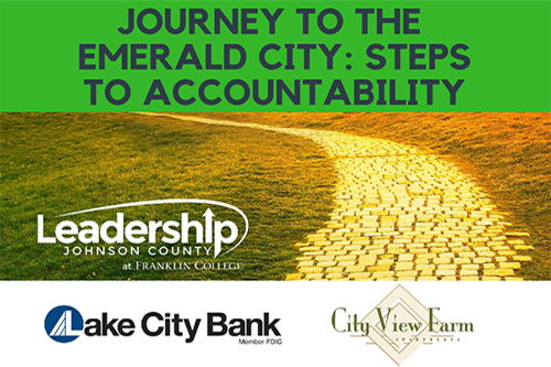 Image for Journey to the Emerald City: Steps to Accountability
