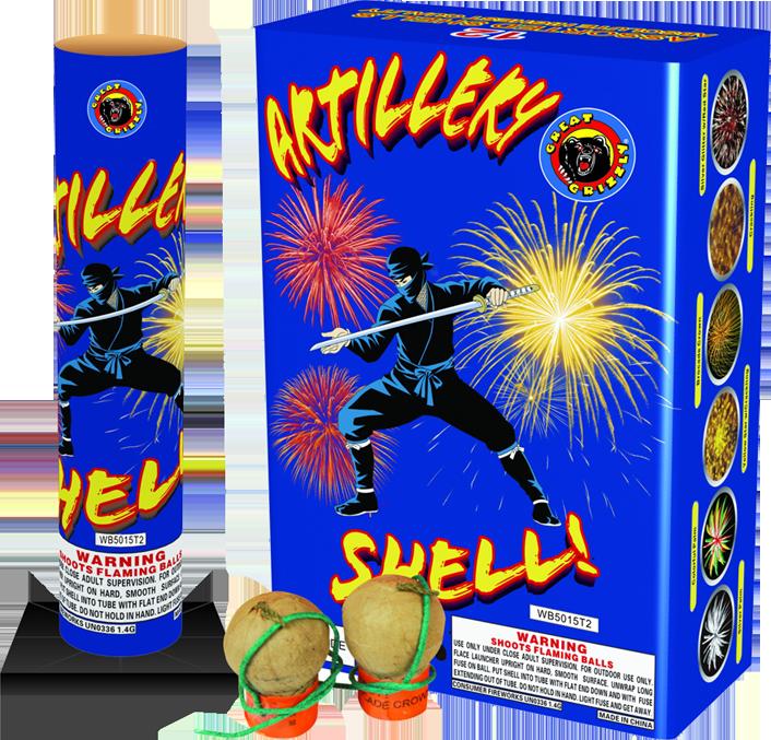 Artillery Shell Double Tube