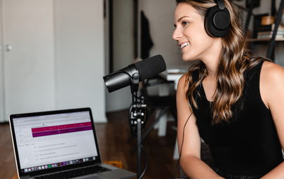 Image for E201: How to leverage podcasts to increase brand awareness and generate demand for your agency (Speak on Podcasts)