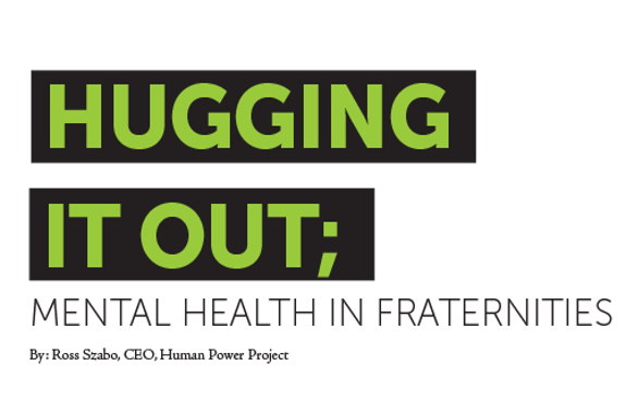 Image for Hugging It Out: Mental Health in Fraternities