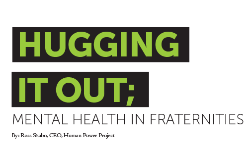 Hugging it Out Mental Health Graphic